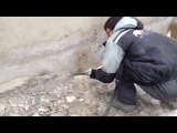 Работа отбойного молотка ARCHIMEDES MS509A4 http://pnevmoportal.ru/